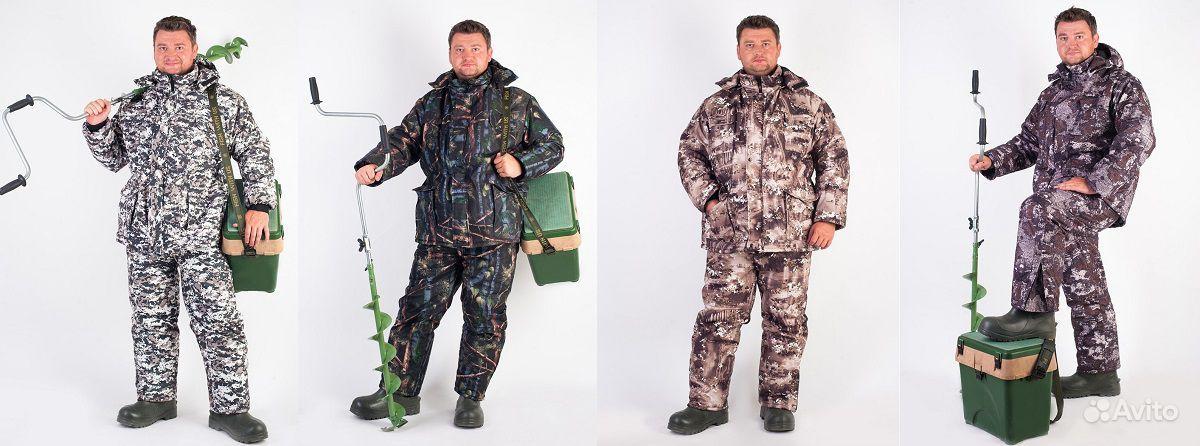 теплые костюмы для рыбаков и охотников