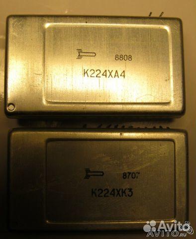 Микросхема микросхемы К224ха4