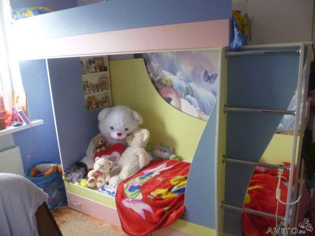 AVITO.ru - Детская двухъярустная кровать в Краснодаре