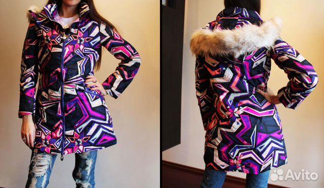 Пуховики in style emilio pucci зимние стеганные пальто женские