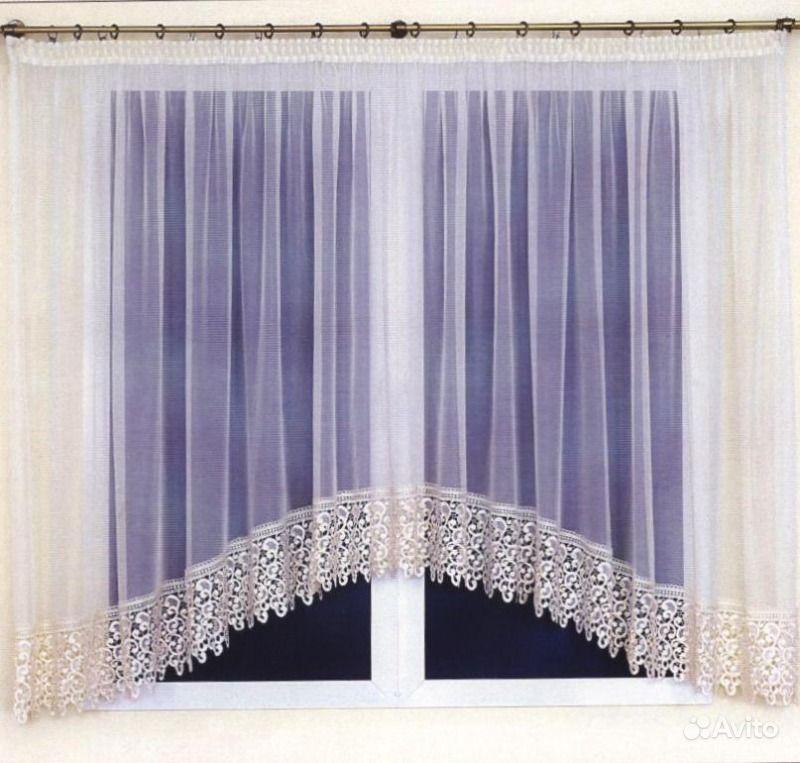 Кухонные шторы арки карниз 2м тц