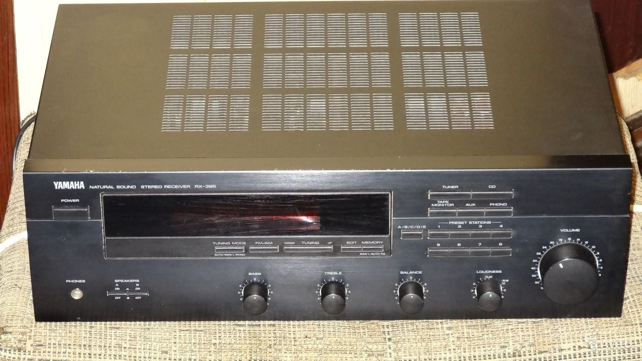 Yamaha Rx V381 395