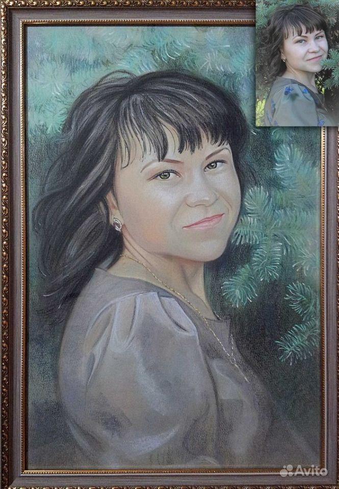 находится закажу портрет по фото пастелью в украине россии преданы