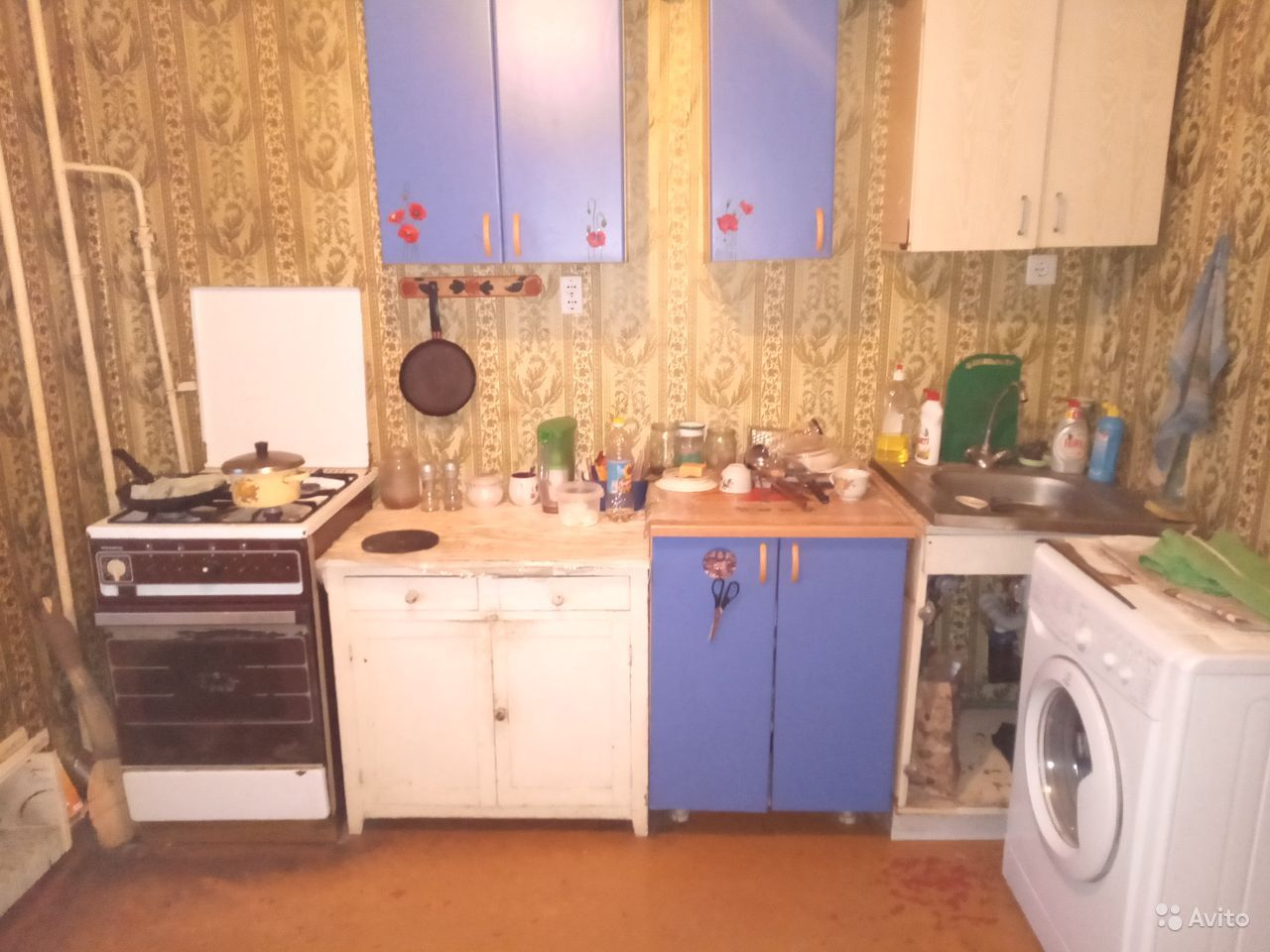 2-к квартира, 53.2 м², 3/5 эт.