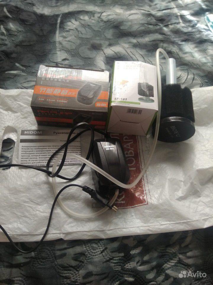 Аквариумный компрессор с фильтром купить на Зозу.ру - фотография № 1