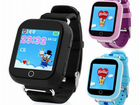 Детские Smart baby watch Q100 (GW200S, Q750) c GPS