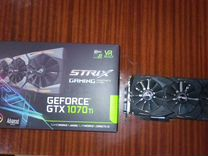 Asus GeForce GTX 1070 Ti ROG 8192Mb strix gaming