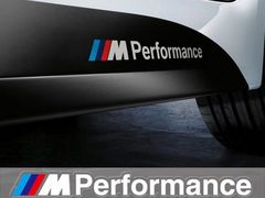 Наклейки M performance BMW