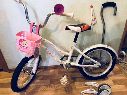 Детский велосипед Stern Fantasy 16 четырёхколёсный