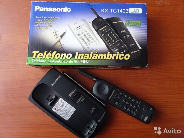 Panasonic KX-TC1403 радиотелефон— фотография №1