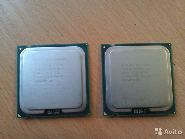 Intel Core 2 Duo E7400 (LGA775)— фотография №1