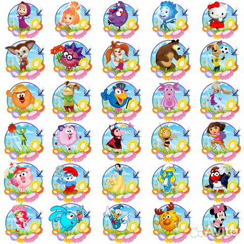 Животные картинки для шкафчиков в детском саду скачать бесплатно