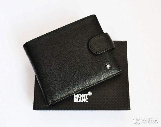 028c3ace5318 Мужской кожаный кошелёк Montblanc Lux Мужские сумк купить в Москве ...