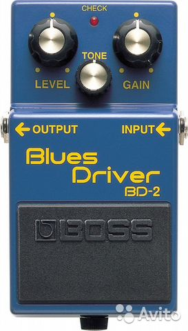 Boss BD-2 Blues Driver— фотография №1