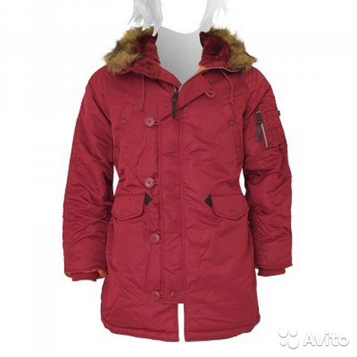 6a68cb27bee Куртка Аляска женская N-3B W. Alpha Industries