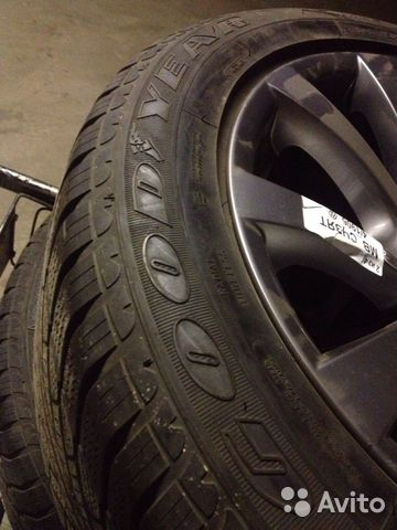 Goodyear Ultra Grip Run Flat 255/50R19 107H— фотография №1