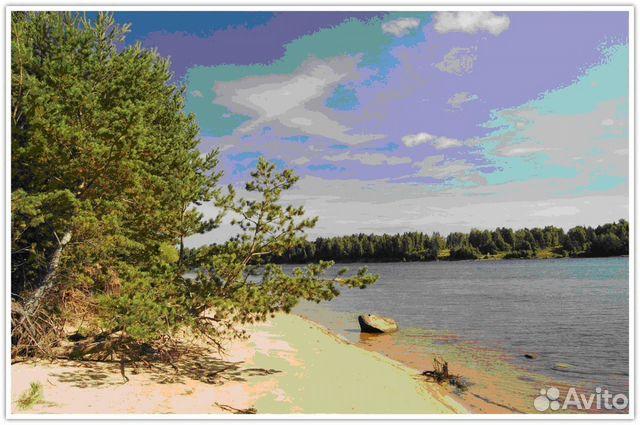 рыбаки расположились на берегу реки