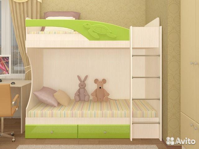 Детская кровать мдф 4 1 2