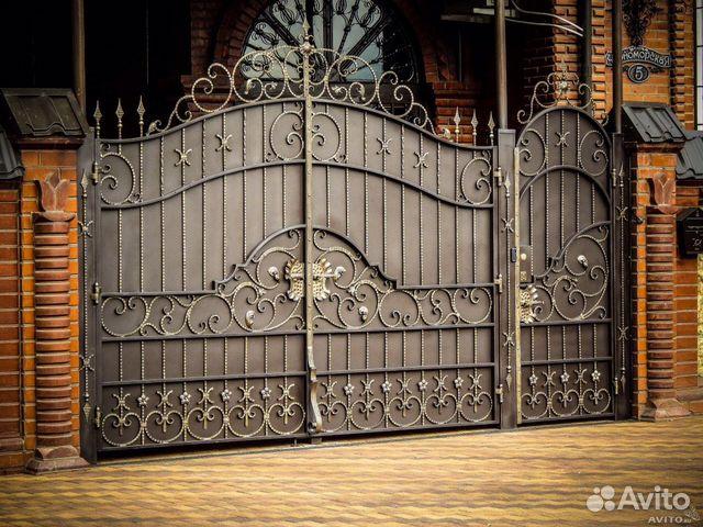 заборы ворота ковка