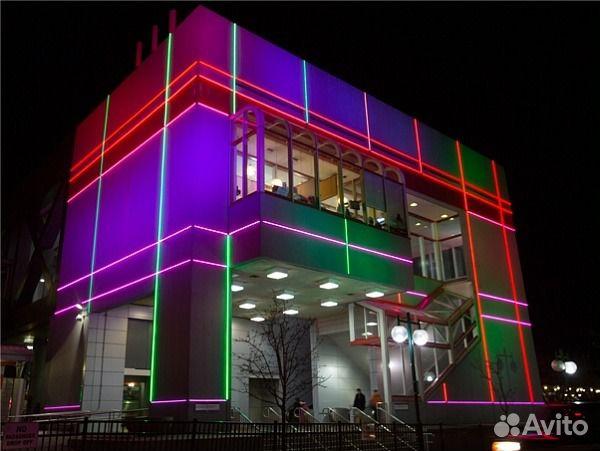 Светодиодное оформление светильники экраны свет— фотография №3