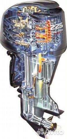 лодочные моторы меркурий в разрезе