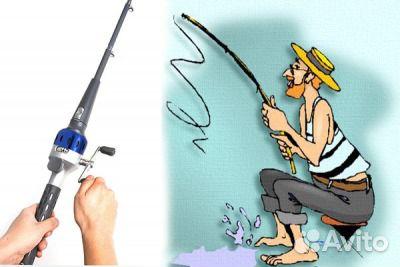 складная удочка fish2go купить в спб