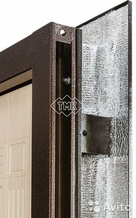 металлическая дверь в дом с повышенной теплоизоляцией