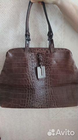 e90dfe9d822e Кожаная сумка саквояж от hugo boss оригинал | Festima.Ru ...
