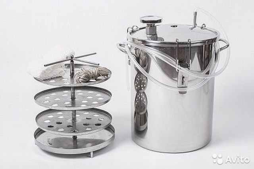Коптильня горячего копчения купить казань куб на 15 литров для самогонного аппарата