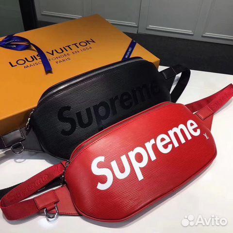 0d5d085ab969 Мужская Сумка LV Louis Vuitton Supreme Belt bag   Festima.Ru ...