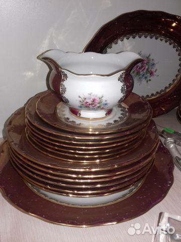 Столовый сервиз на 6 персон Офелия Полевой цветок 89289503332 купить 6