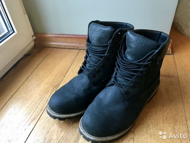 Тимберленд мужские ботинки с мехом  7cecea37a7551