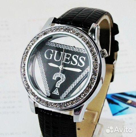 Новые часы Guess кварцевые наручные женские черные купить в Санкт ... 16365cc5db8c4