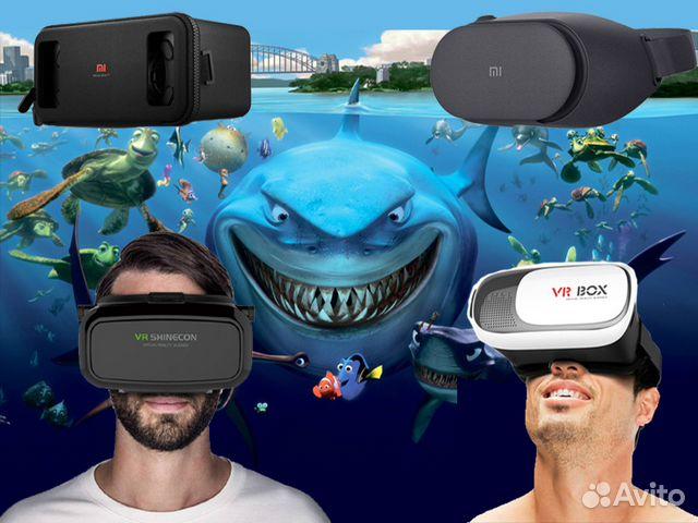 Очки шлем виртуальной реальности 3D VR 3efdaeb027534