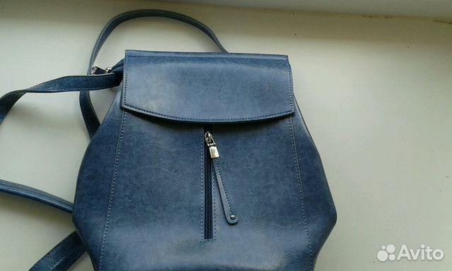 8ae9788ea266 Сумка рюкзак женский голубой | Festima.Ru - Мониторинг объявлений