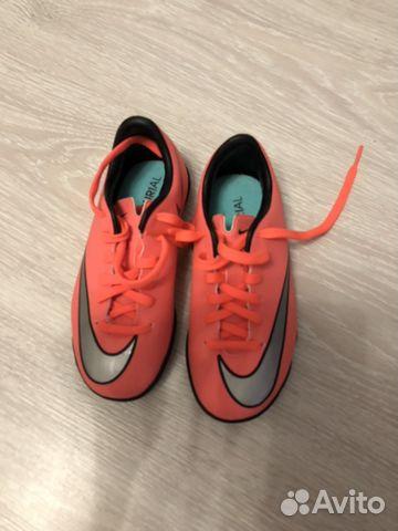 00b9096a Новые детские бутсы Nike для зала купить в Москве на Avito ...