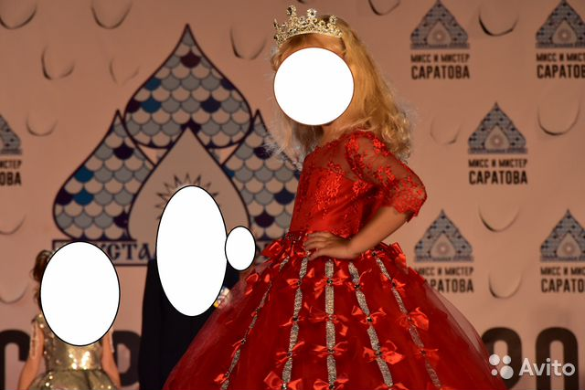 Красивое Бальное, вечернее платье 89173117656 купить 1