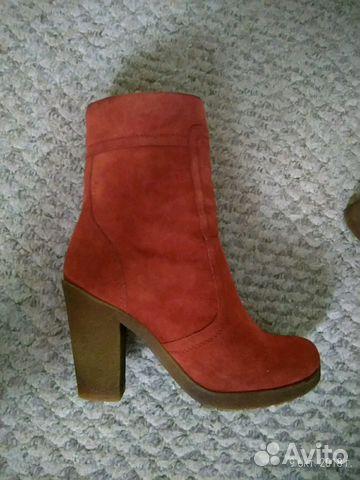 314c60a7 Зимние теплые женские ботинки на каблуке | Festima.Ru - Мониторинг ...