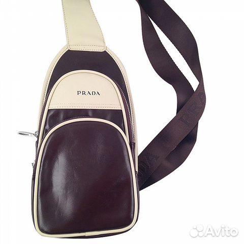 Сумка рюкзак мужская женская Prada арт.021-4 купить в Москве на ... 20b592a525d