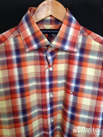 16eab4f350c3 Клетчатая рубашка Tommy Hilfiger M
