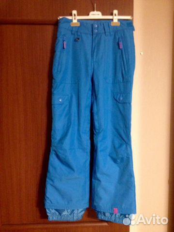 Roxy брючки от горнолыжного костюма купить в Москве на Avito ... d25c7198ab2