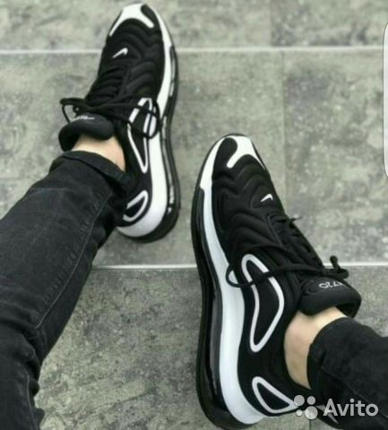 a0d820c6 Кроссовки Nike AM 720 Black/White | Festima.Ru - Мониторинг объявлений
