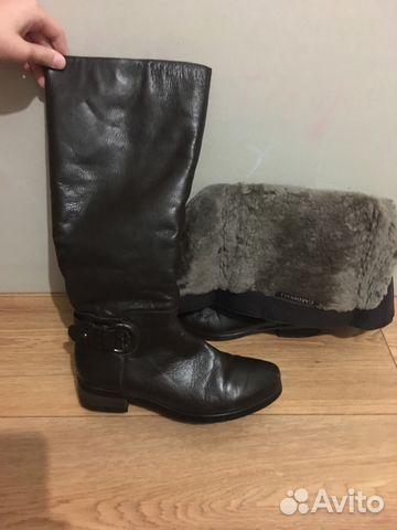 ff86163df Сапоги женские зимние кожаные купить в Санкт-Петербурге на Avito ...