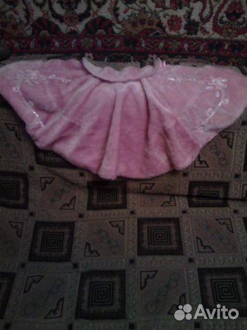 Меховая накидка на платье 89289278744 купить 1