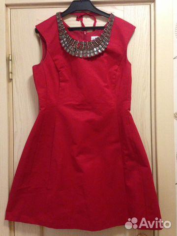 195a0b183397d2a Красное платье Oasis   Festima.Ru - Мониторинг объявлений