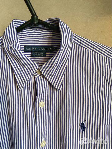 f809ce42fd3 Рубашка в полоску Ralph Lauren купить в Ростовской области на Avito ...