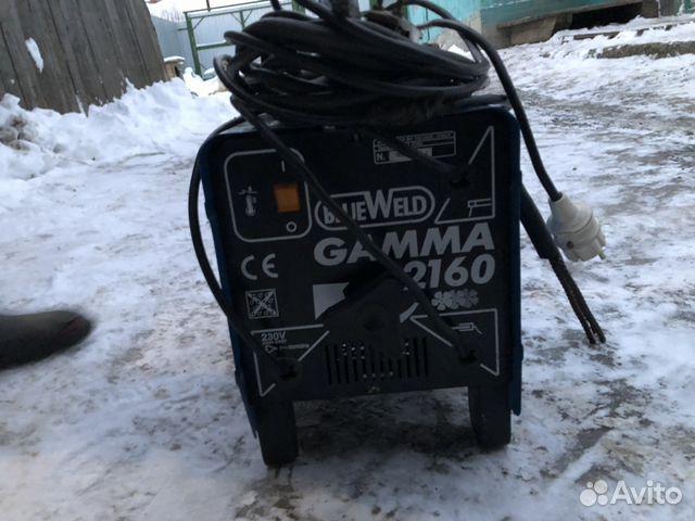 Сварочный аппарат gamma 2160 blueweld продам стабилизатор напряжения на дом
