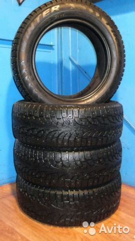 Pirelli Winter Carving Edge 215/55R16— фотография №1
