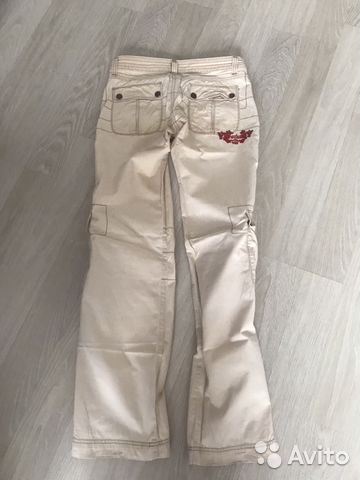 Джинсовые брюки 89617561858 купить 2
