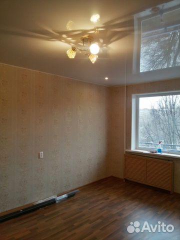 Продается однокомнатная квартира за 1 750 000 рублей. Новгородская область, проспект Мира, 16/21.